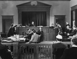 Courtroom scene  - 104443443