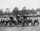 Football team in field  - 104454812