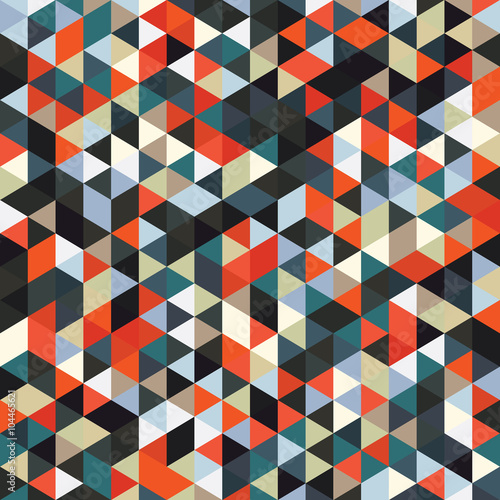 Triangle pattern vector background illustration