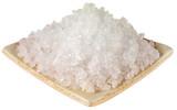 DISH OF ROCK SALT CUT OUT