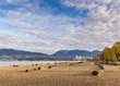 Kitsilano beach in Vancouver BC Canada