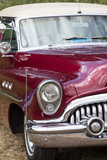 Front detail of a vintage car