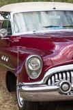 Front detail of a vintage car