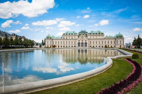 Poster Wenen Belvedere is a historic building complex in Vienna