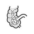 ������, ������: Colon cancer icon