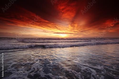 Valokuva Bali sunset