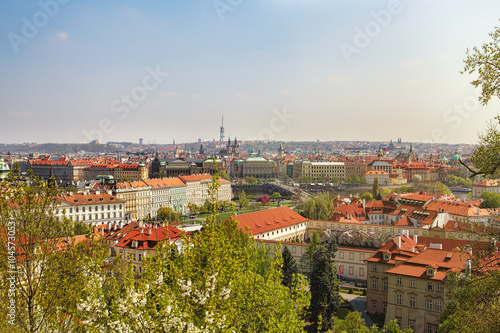 Poster Egypte panorama of Prague