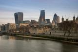 London Skyline from River Thames - 104579227