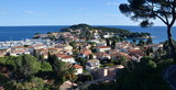 Roofs of Saint Jean Cap Ferrat village, France