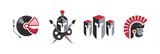 Best Spartan Set Logo Elements