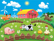 Cartoon Farm Animal