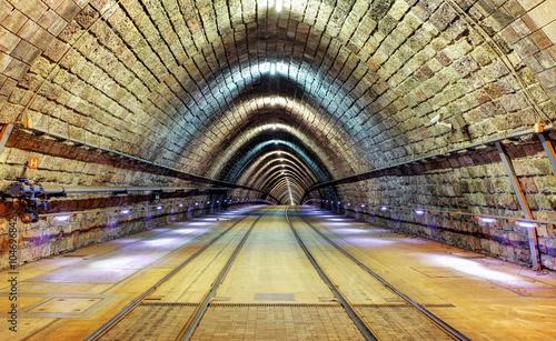fototapeta na ścianę Railroad tunnel