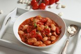 dish of stewed beans