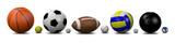 Sports Balls  Wall Sticker