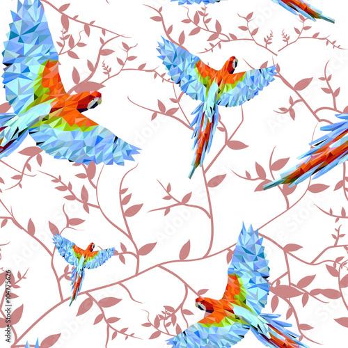 Wzór w papugi5
