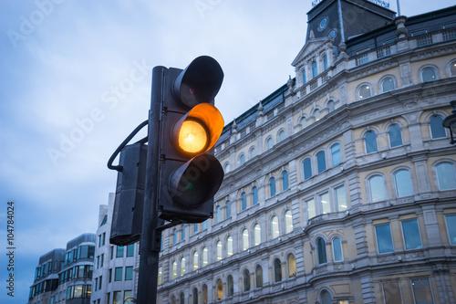 Poster Traffic light, London