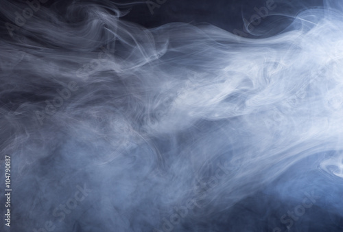 Abstract Smoky Background Poster