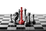 Chess business concept, leader & success - 104818687