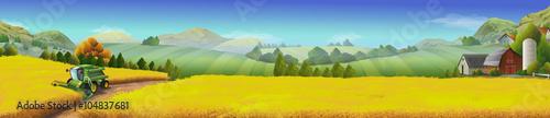 Dort, wo Getreide golden glänzt