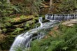Szklarka waterfall in Giant Karkonosze mountains