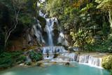 Fototapety Kuang Si Waterfall, Luang Prabang, Laos