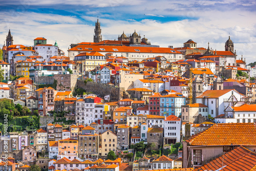 Naklejka Porto, Portugal Skyline