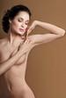 Young beautiful woman. perfect skin. armpit