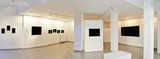 Panoramic view of a Exhibition gallery with museum style lightin - 104919090