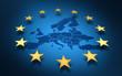 union européenne europe or drapeau ou parlement européen