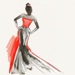 fashion dress © Anna Ismagilova