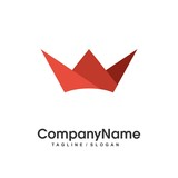 King logo icon Vector