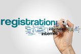 Registration word cloud