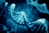 3d render of dna structure, abstract background - 105037221