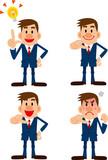 ビジネスマン表情