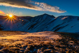 Sunrise Above Loveland Pass