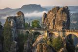 Fototapety The Bastei bridge, Saxon Switzerland National Park, Germany