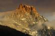 Mountain Campanili di Val di Roda, Dolomite mountains, Italy