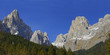 Valley Canali (Val Canali), Dolomite mountains, Italy