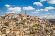 Ancient town of Matera (Sassi di Matera) at sunrise, Basilicata, Italy