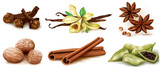Different spices set - 105142223
