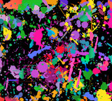 Abstract color splash background. Watercolor background illustration.  - 105155004