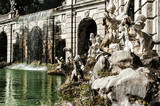 eolo the fountain in the palace of Caserta
