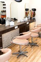 Besuch im Friseur Salon