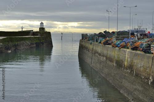 Poster Küste von Edingburgh