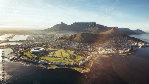 Wall mural Aerial view of Cape Town, South Africa