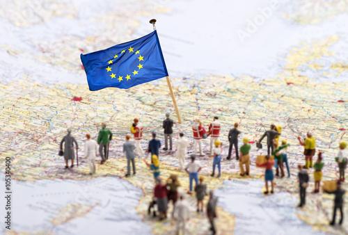 Foto Murales Ziel Europa
