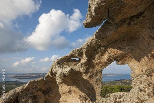 Naklejka La finestra nel granito
