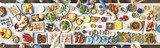 Fototapety Food Festive Restaurant Party Unity Concept