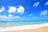 Fototapety 沖縄の美しい海とさわやかな空