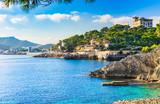 Fototapety Seaside of Cala Ratjada Majorca Spain